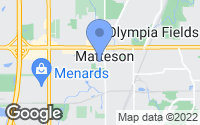 Map of Matteson, IL