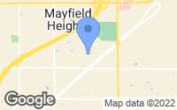 Map of Mayfield Heights, OH