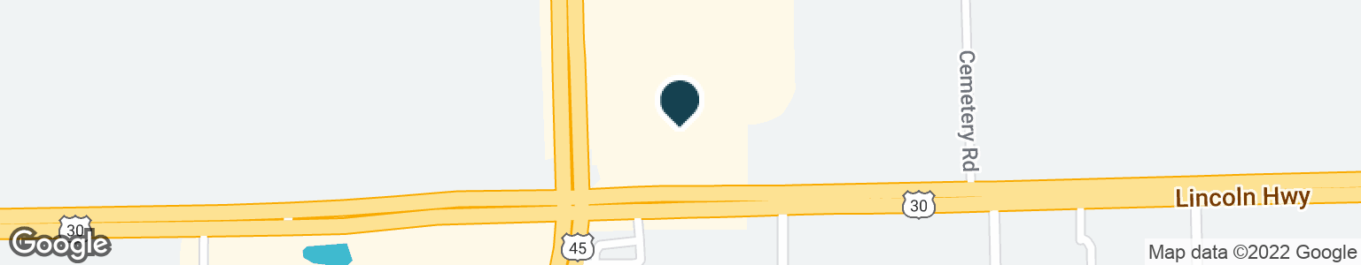 Google Map of9554 E LINCOLN HWY