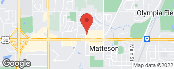 Map of 4330 Lincoln Hwy in Matteson