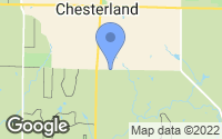 Map of Chesterland, OH