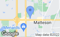 Map of Matteson, IL