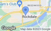 Map of Rockdale, IL