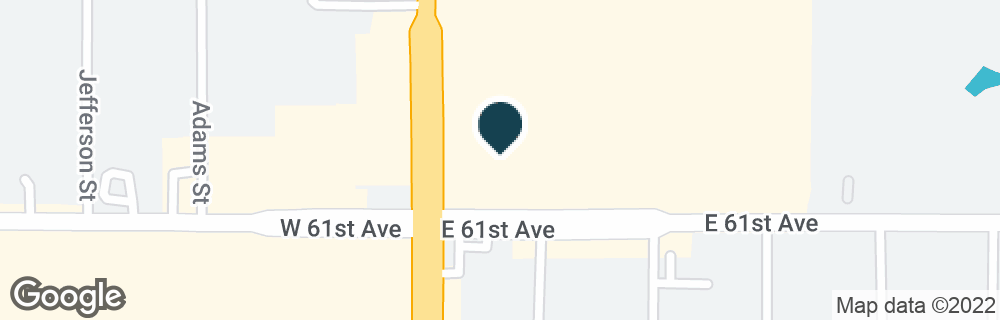 Google Map of6097 BROADWAY