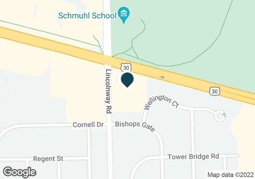Google Map of450 S SCHOOLHOUSE RD