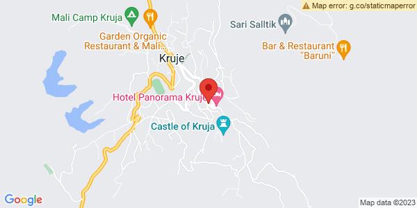 Google Map of Monumenti i Skenderbeut, Krujë, Αλβανία