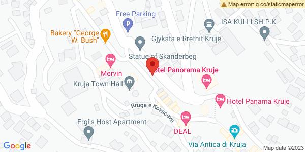 Google Map of Monumenti i Skenderbeut, Krujë, Albania