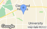 Map of Cleveland Heights, OH