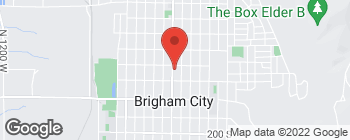 Map of 156 N Main St in Brigham City