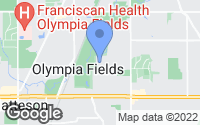 Map of Olympia Fields, IL