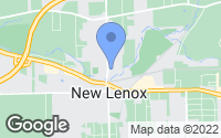 Map of New Lenox, IL