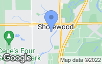 Map of Shorewood, IL
