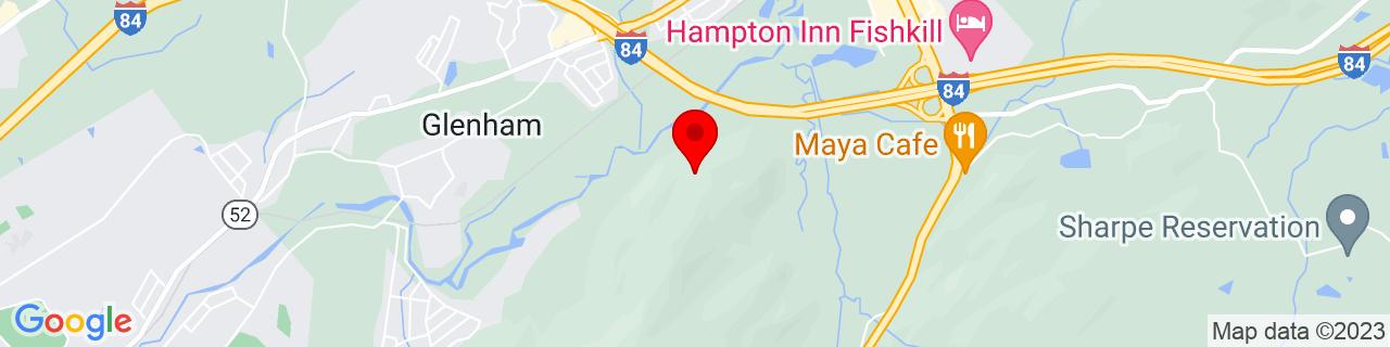 Google Map of 41.5188053, -73.90969679999999