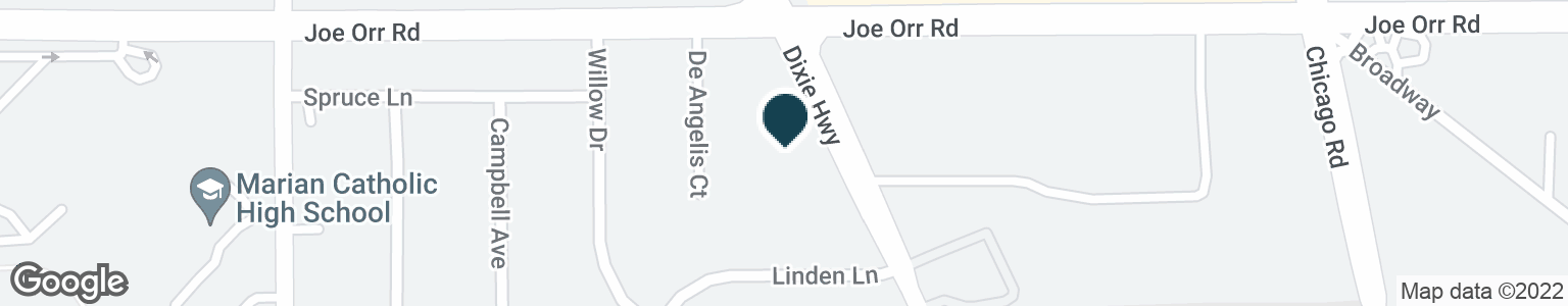 Google Map of650 DIXIE HWY