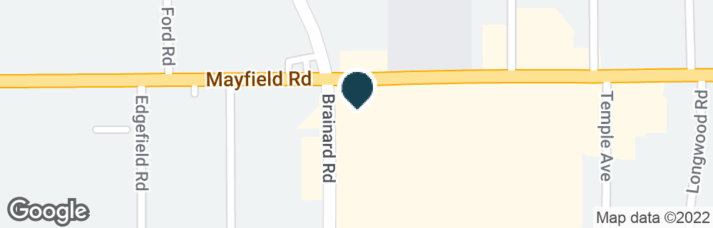 Google Map of5644 MAYFIELD RD