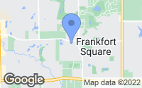 Map of Frankfort, IL