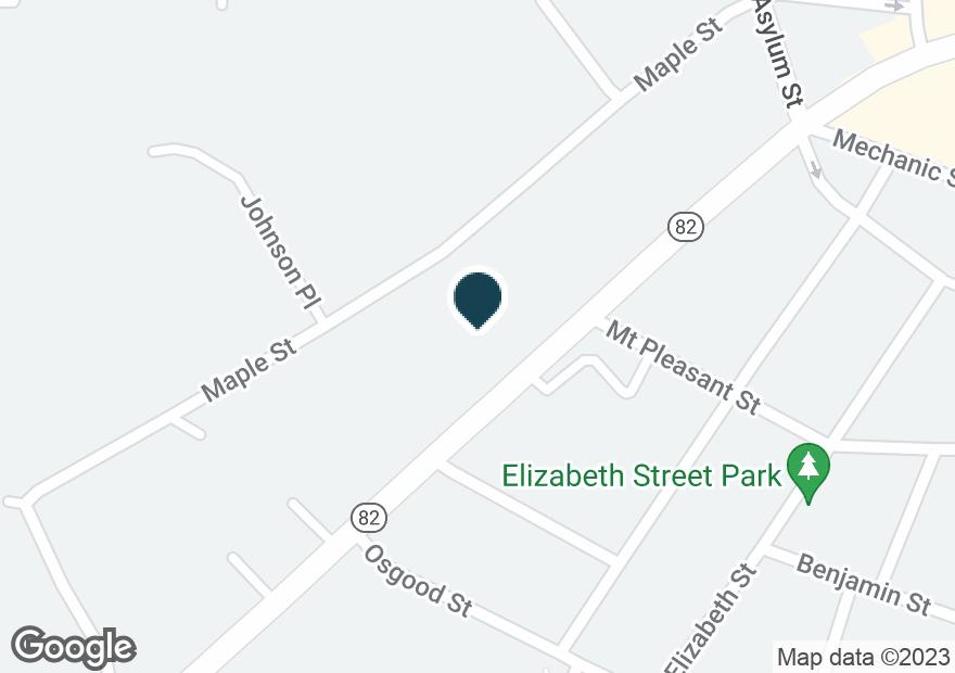 Google Map of399 W MAIN ST