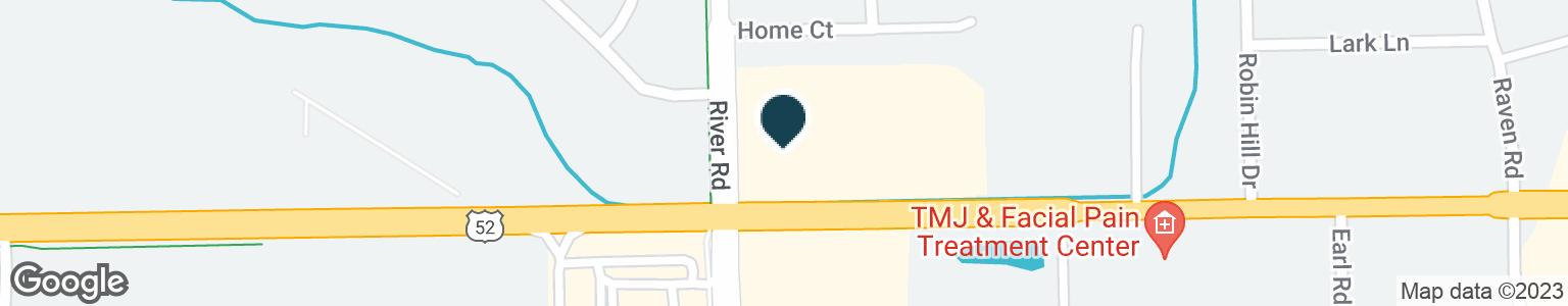 Google Map of1160 W JEFFERSON ST