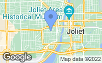 Map of Joliet, IL