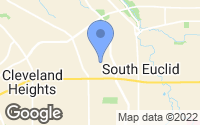 Map of South Euclid, OH