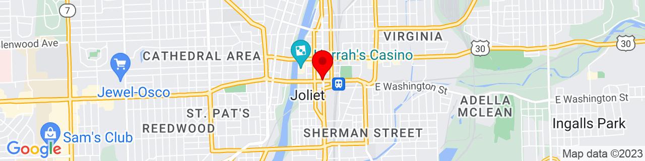 Google Map of 41.525, -88.08166666666666