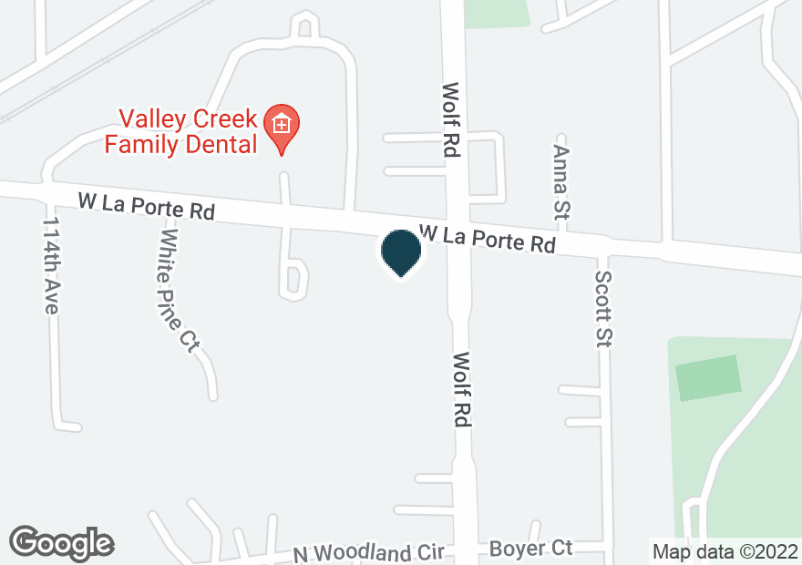 Google Map of20002 WOLF RD