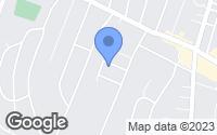 Map of Meriden, CT
