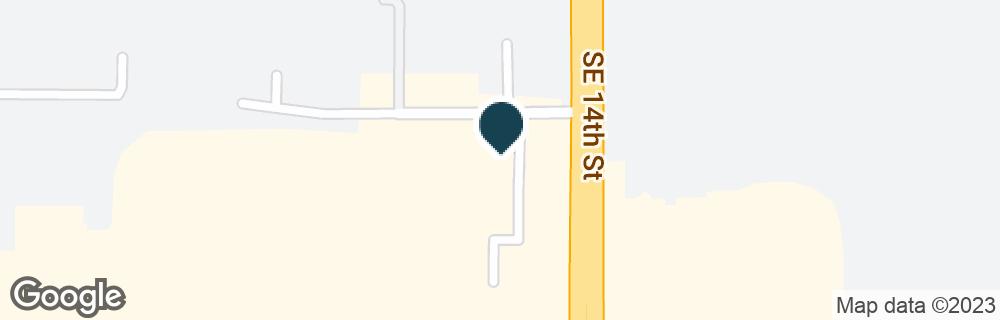 Google Map of6200 SE 14TH ST