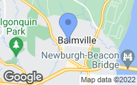 Map of Newburgh, NY