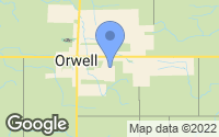Map of Orwell, OH