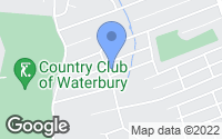 Map of Waterbury, CT