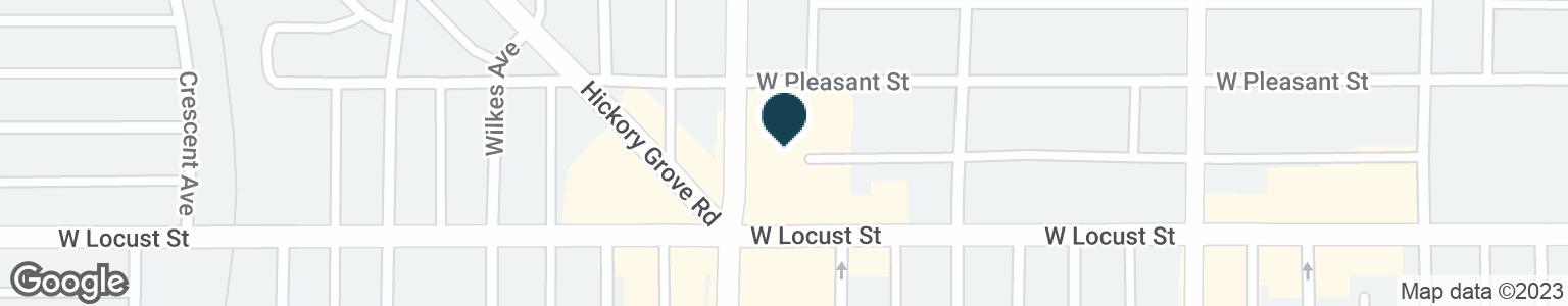 Google Map of1660 W LOCUST ST