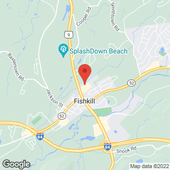 Map of Optimum WiFi Hotspot at 738 Route 9, Fishkill, NY 12524