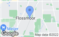 Map of Flossmoor, IL