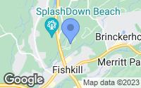 Map of Fishkill, NY