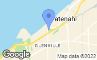 Map of Bratenahl, OH