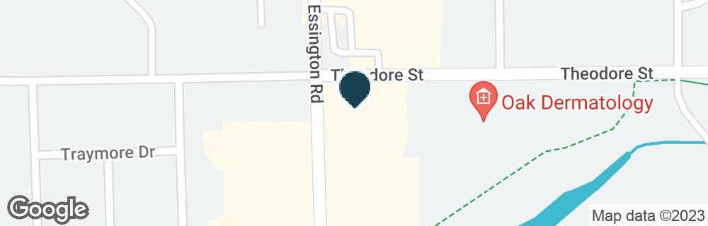 Google Map of1514 ESSINGTON RD