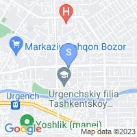 Location of Khorezm Palace on map