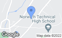 Map of Norwich, CT