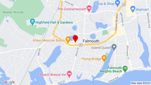 Google Map of 300 Main Street, Falmouth, MA 02540