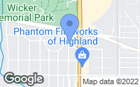 Map of Highland, IN