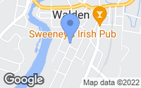 Map of Walden, NY