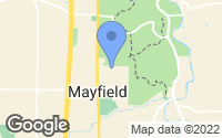 Map of Mayfield, OH