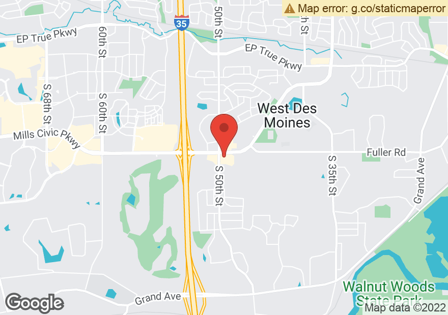Google Map of 4900 MILLS CIVIC PKWY