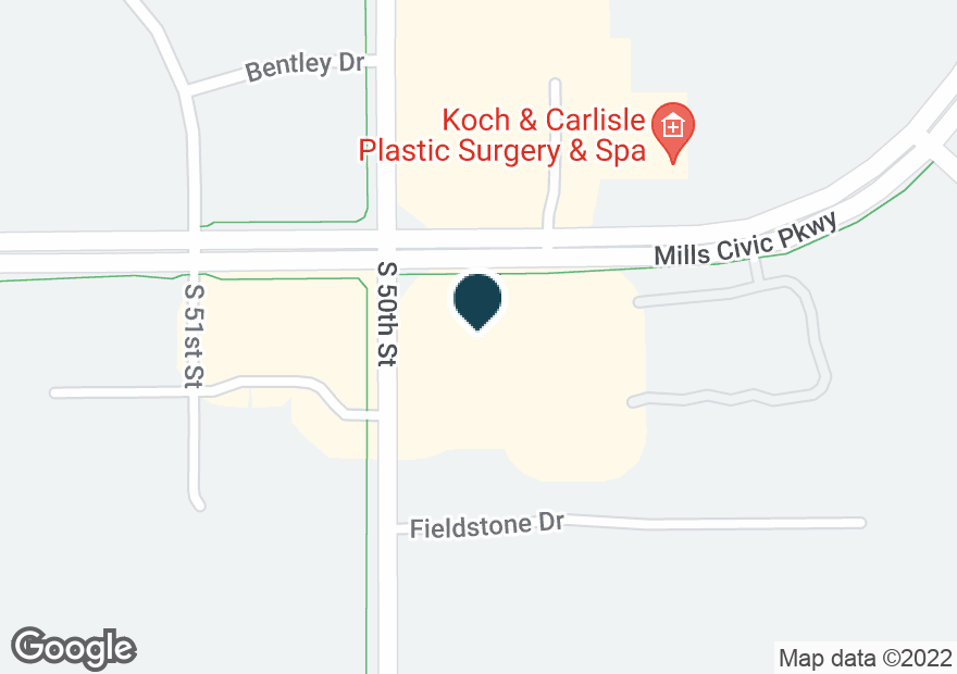 Google Map of4900 MILLS CIVIC PKWY