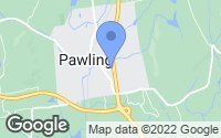 Map of Pawling, NY