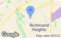 Map of Richmond Heights, OH