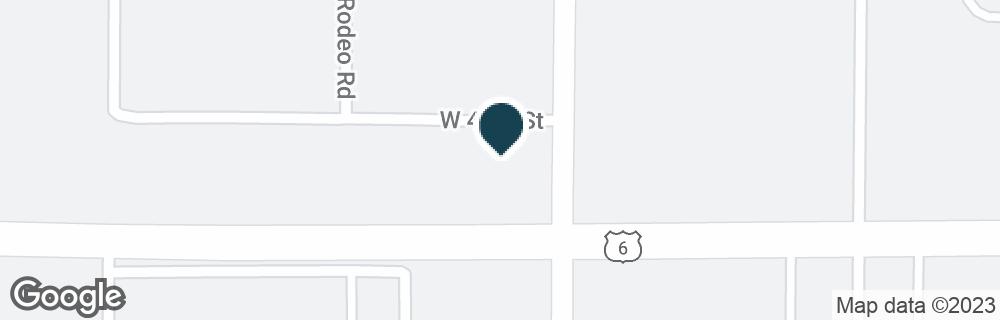 Google Map of1720 W KIMBERLY RD
