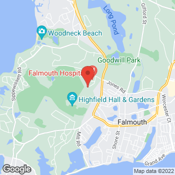 Map of Kira Grant Edwards, DO, FAAP at 15 Bramblebush Park, Falmouth, MA 02540