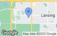 Map of Lansing, IL